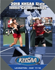 2018 KHSAA Tennis State Championship Program (B&W) cover image