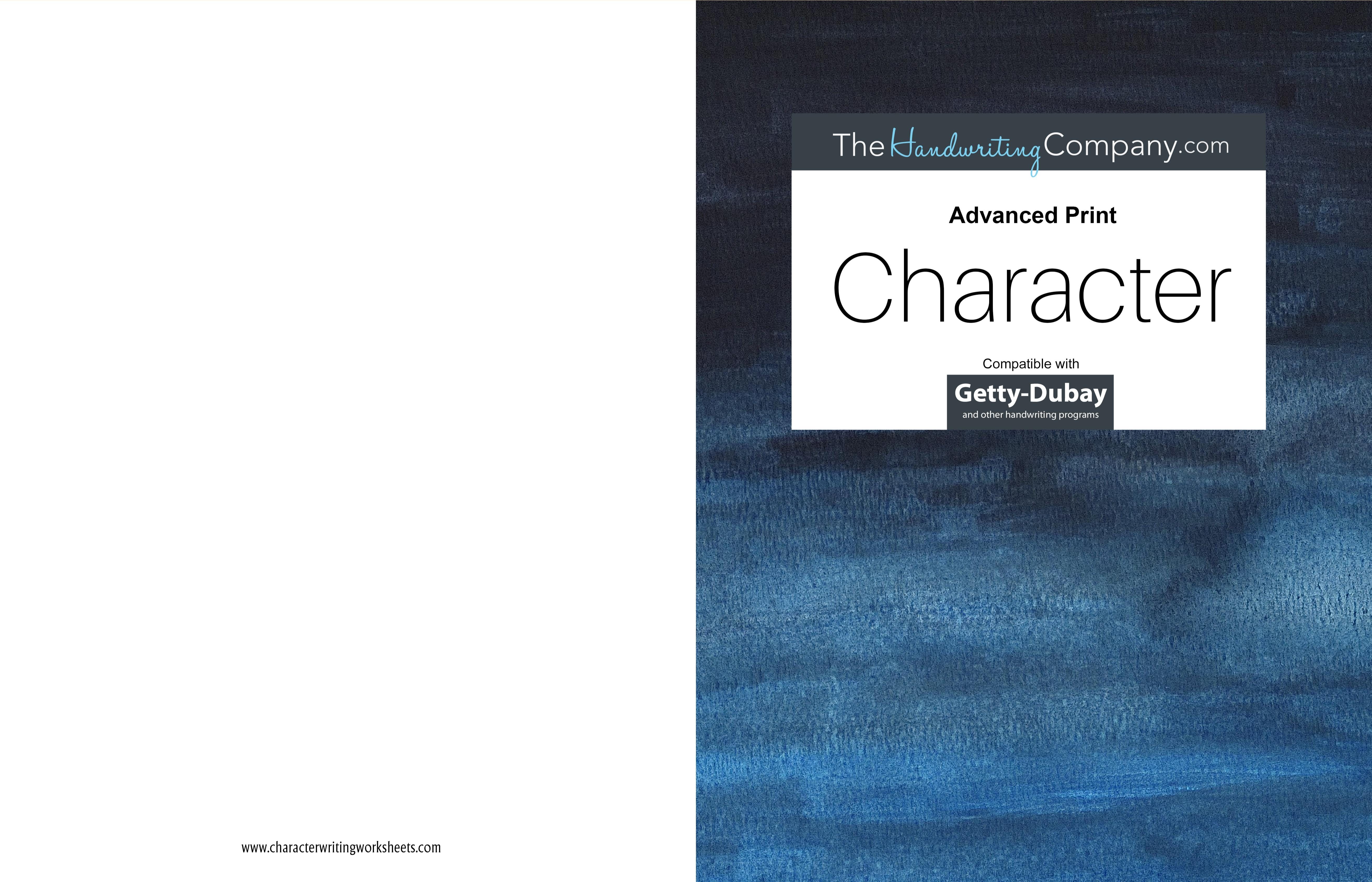 Character Getty-Dubay - Advanced Print cover image