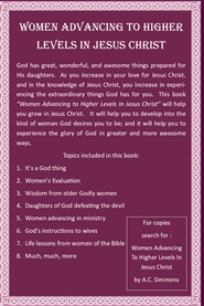 Women Advancing To Higher Levels In Jesus Christ cover image