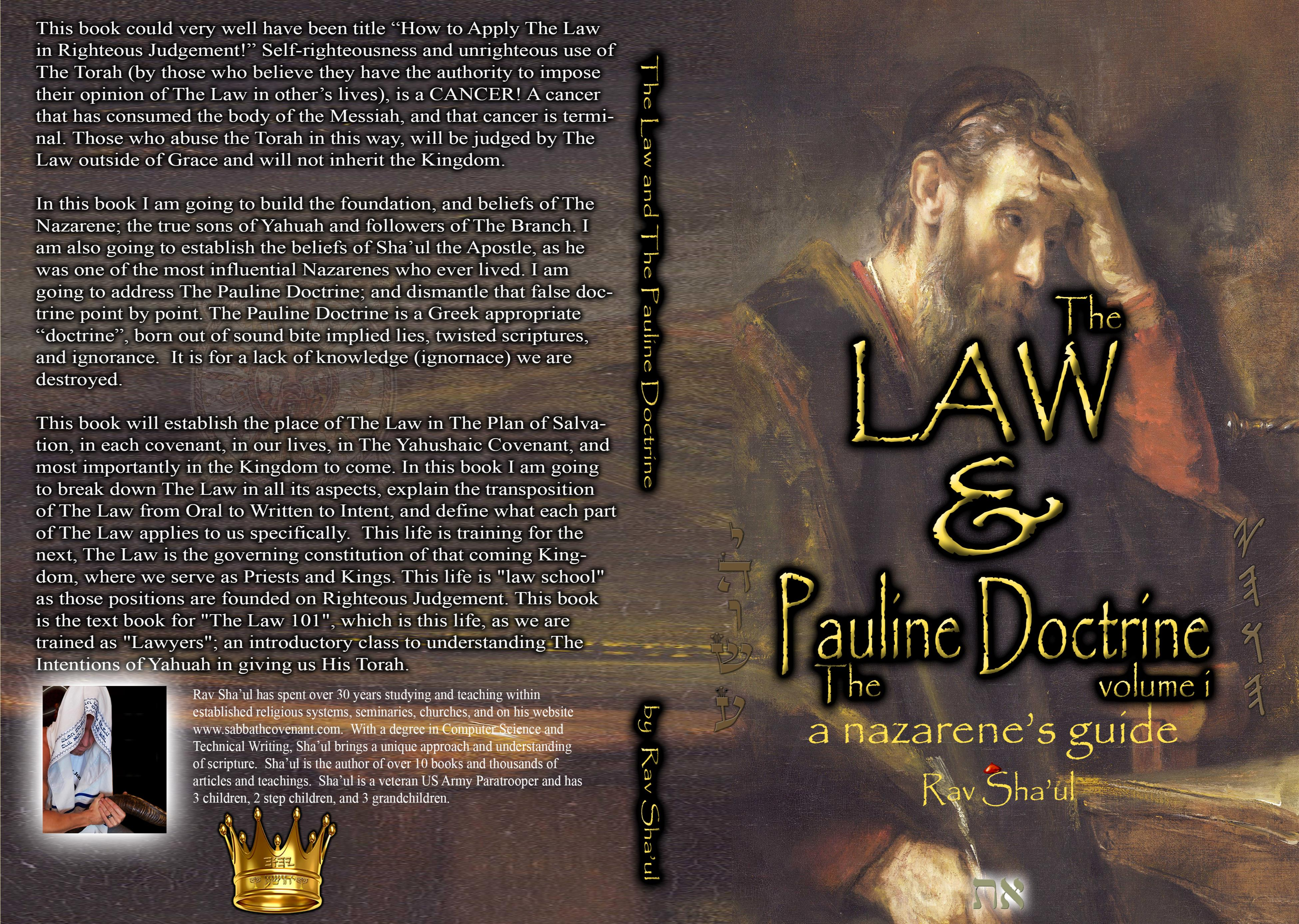 The Law and The Pauline Doctrine cover image