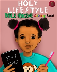 Holy Lifestyle Coloring Book - Hygiene (Girl) cover image