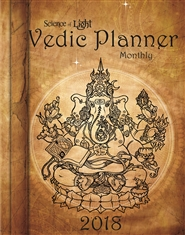 2018 Vedic Planner cover image