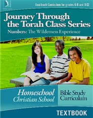 Numbers: The Wilderness Experience, Homeschool Textbook cover image