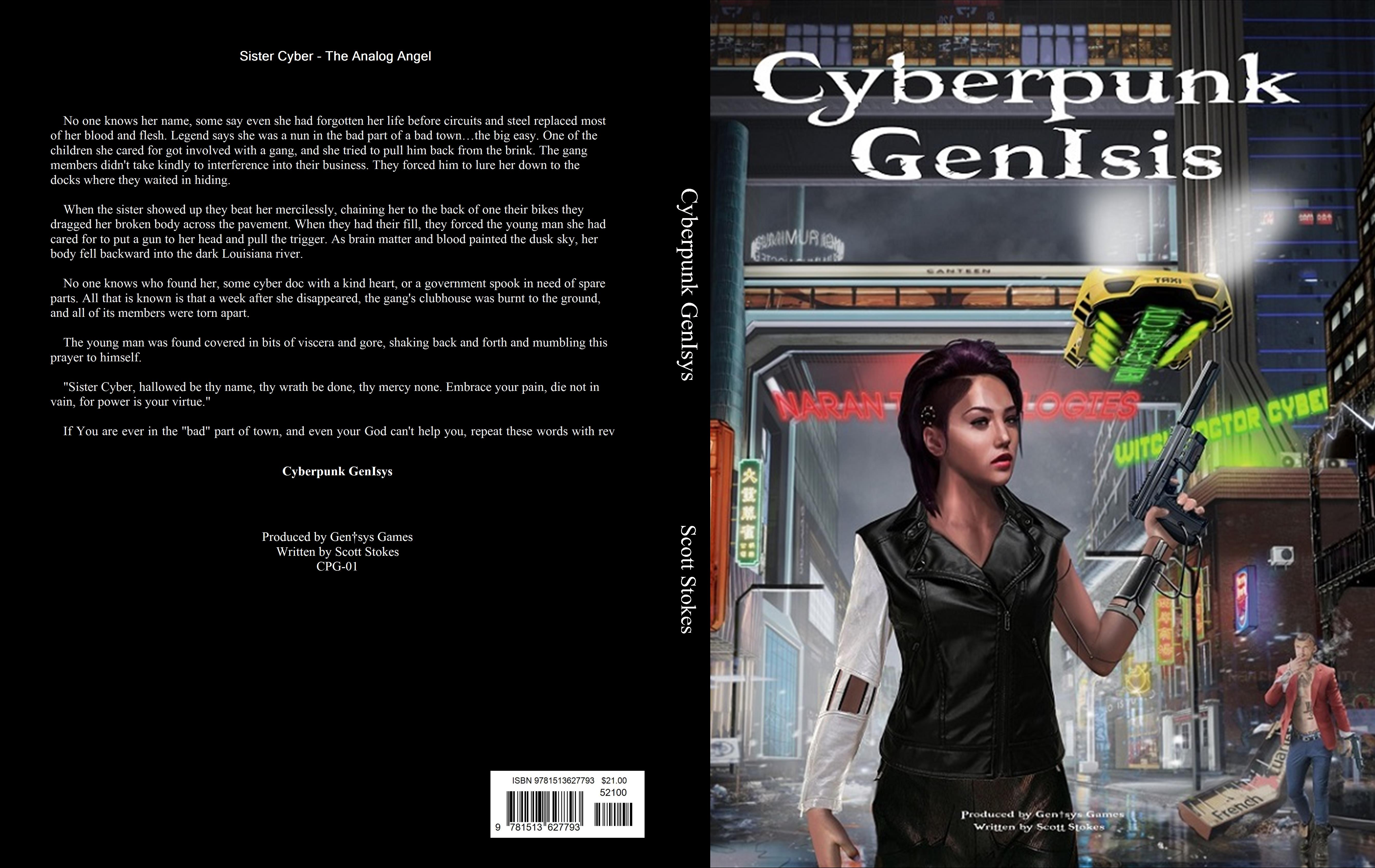 Cyberpunk GenIsys cover image