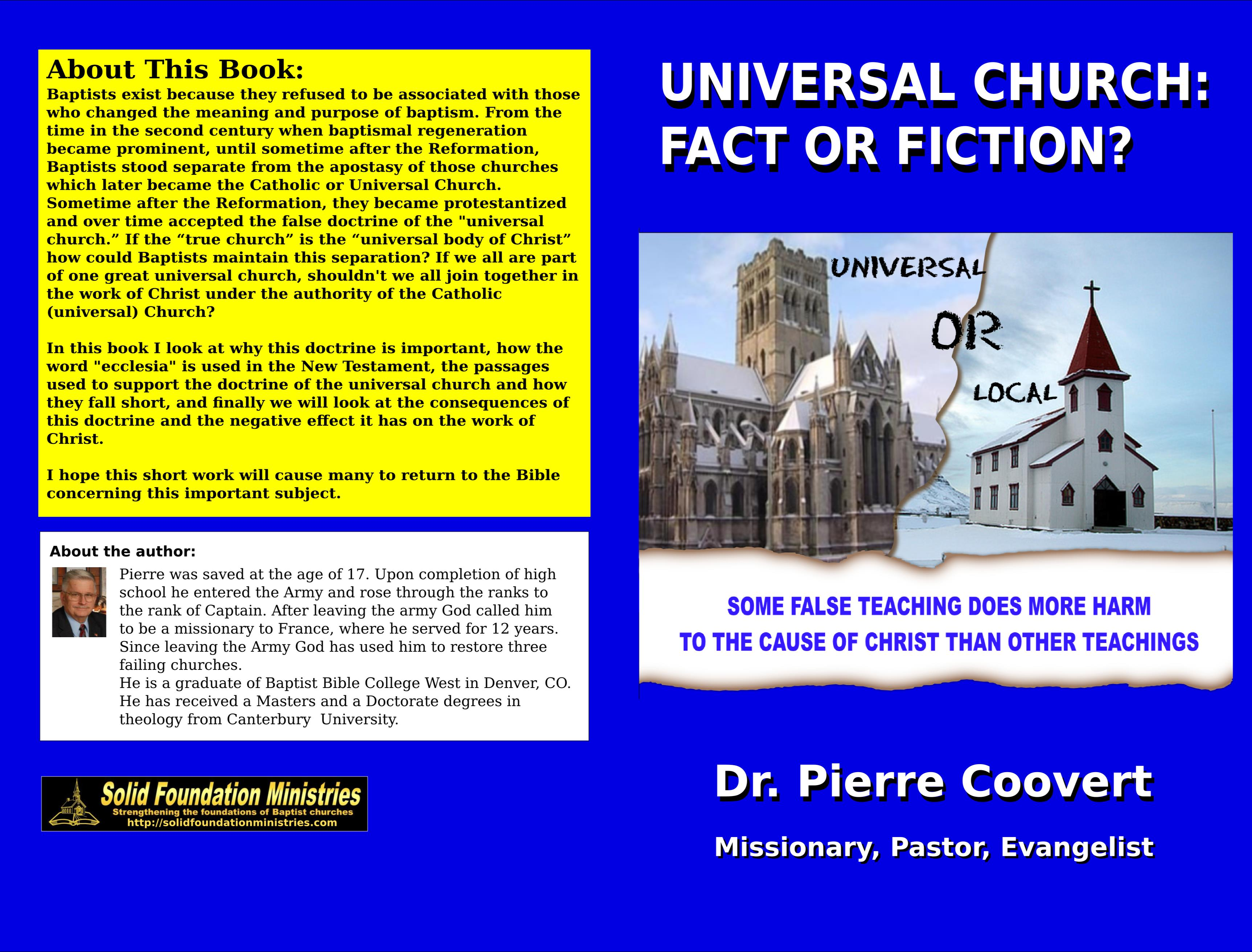 Universal Church: Fact or Fiction cover image