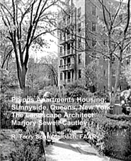 Phipps Apartments Housing; Sunnyside, Queens, New York: The Landscape Architect Marjory Sewell-Cautley cover image
