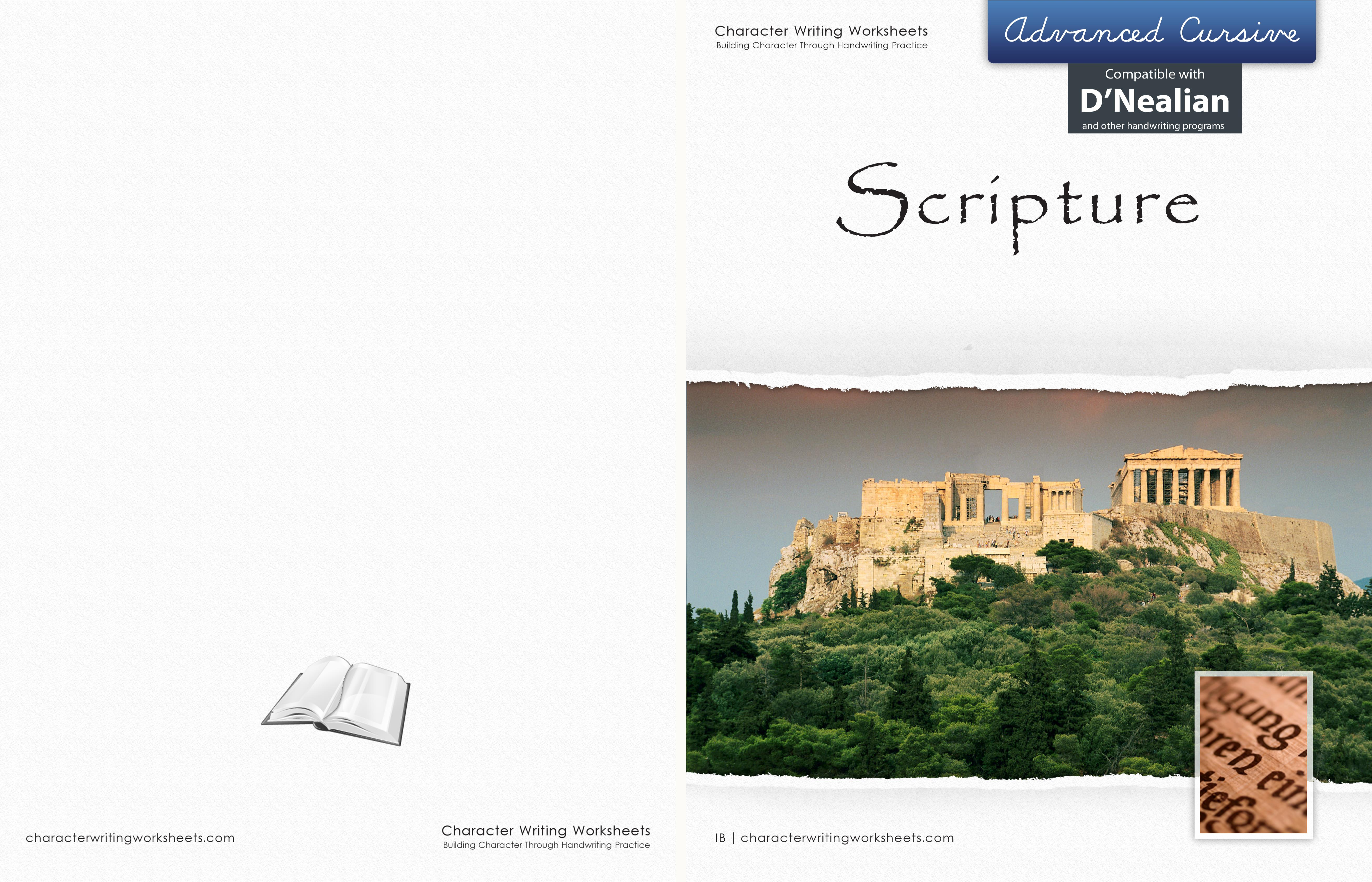 DN - Scripture - Advanced Cursive cover image