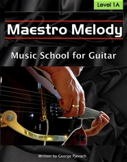 Maestro Melody School Of Music For Guitar Level 1A cover image