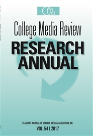 College Media Review Research Annual 2017 cover image