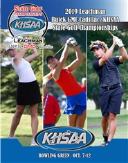2019 Leachman Buick-GMC-Cadillac/KHSAA Golf Championship Program cover image