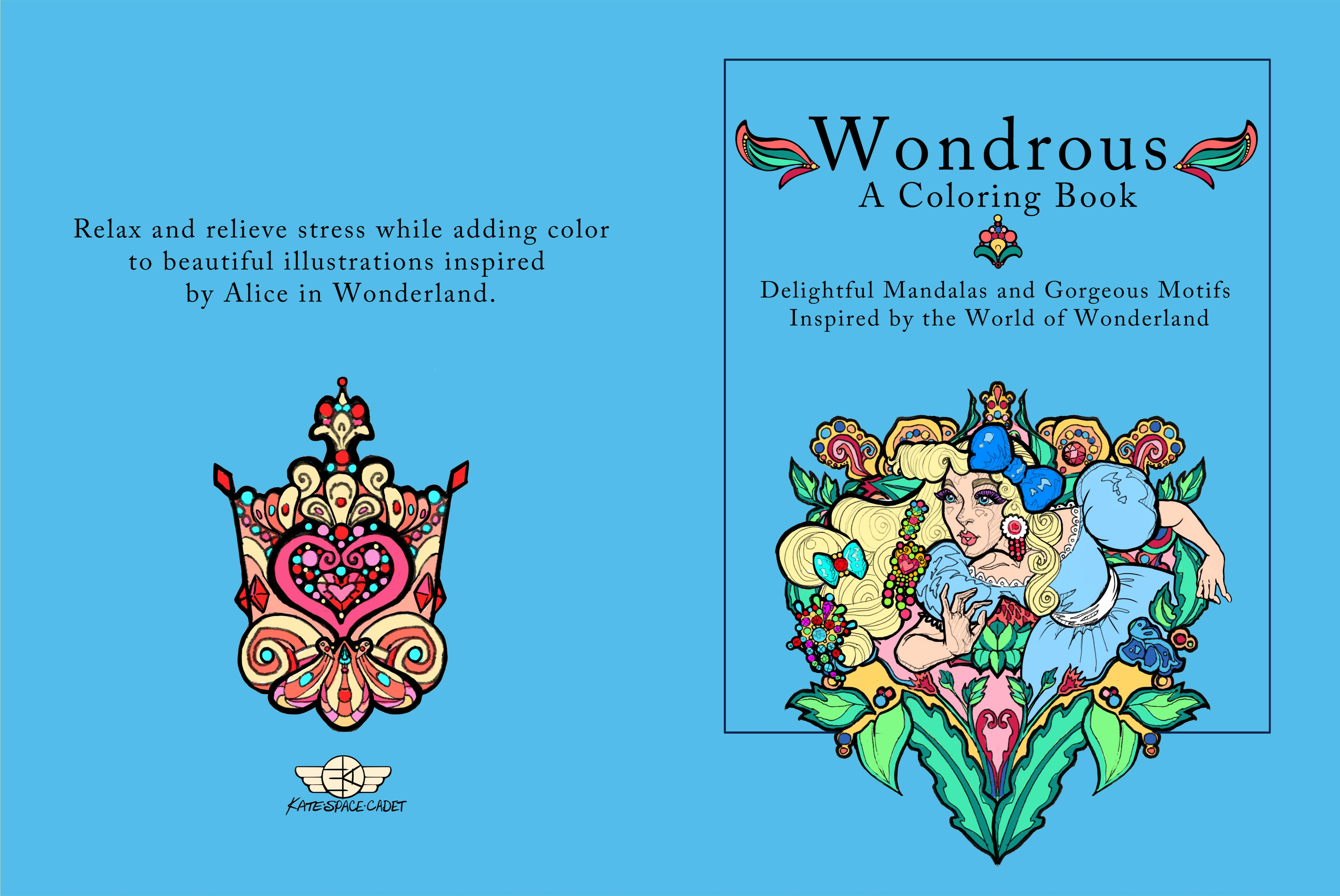 Wondrous: A Coloring Book cover image