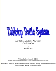 Tabletop Battle System cover image