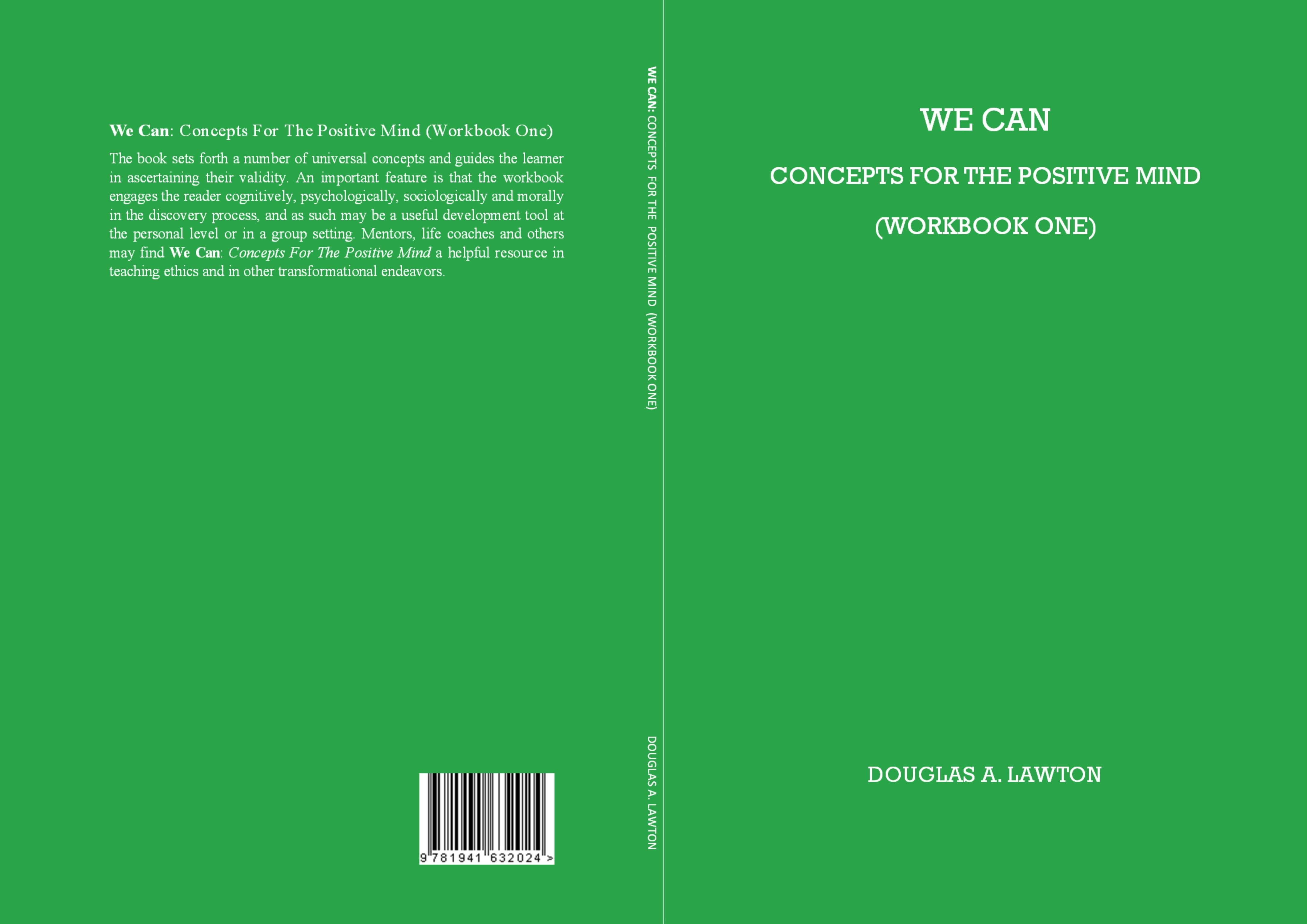 We Can: Concepts for the Positive Mind (Workbook One) cover image