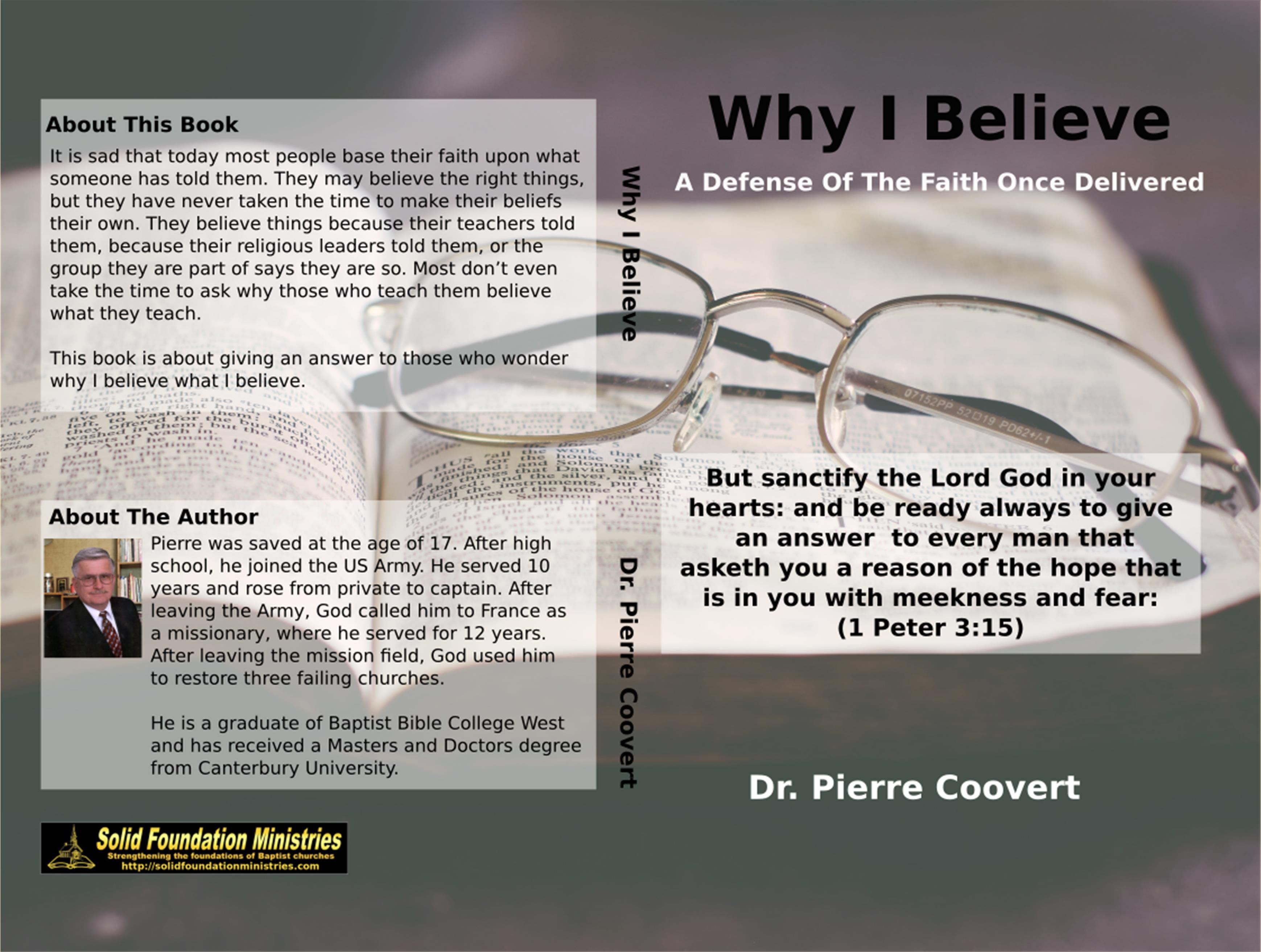 Why I Believe cover image