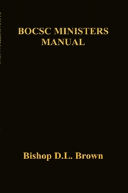 BOCSC MINISTERS MANUAL cover image