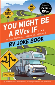 You Might Be A RVer If - RV Joke Book cover image
