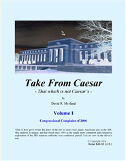 Take From Caesar Volume I cover image