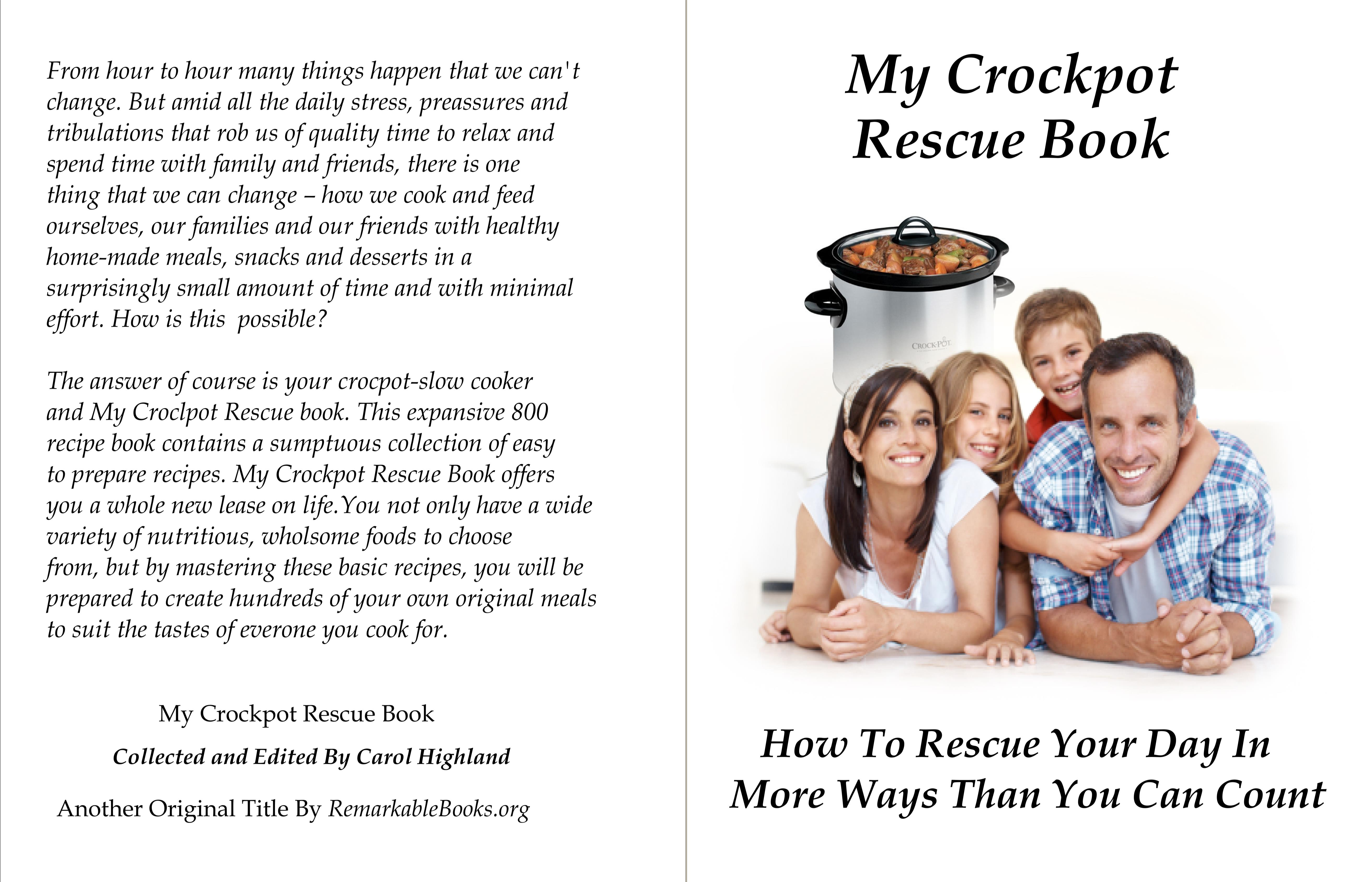 My Crockpot Rescue Book cover image