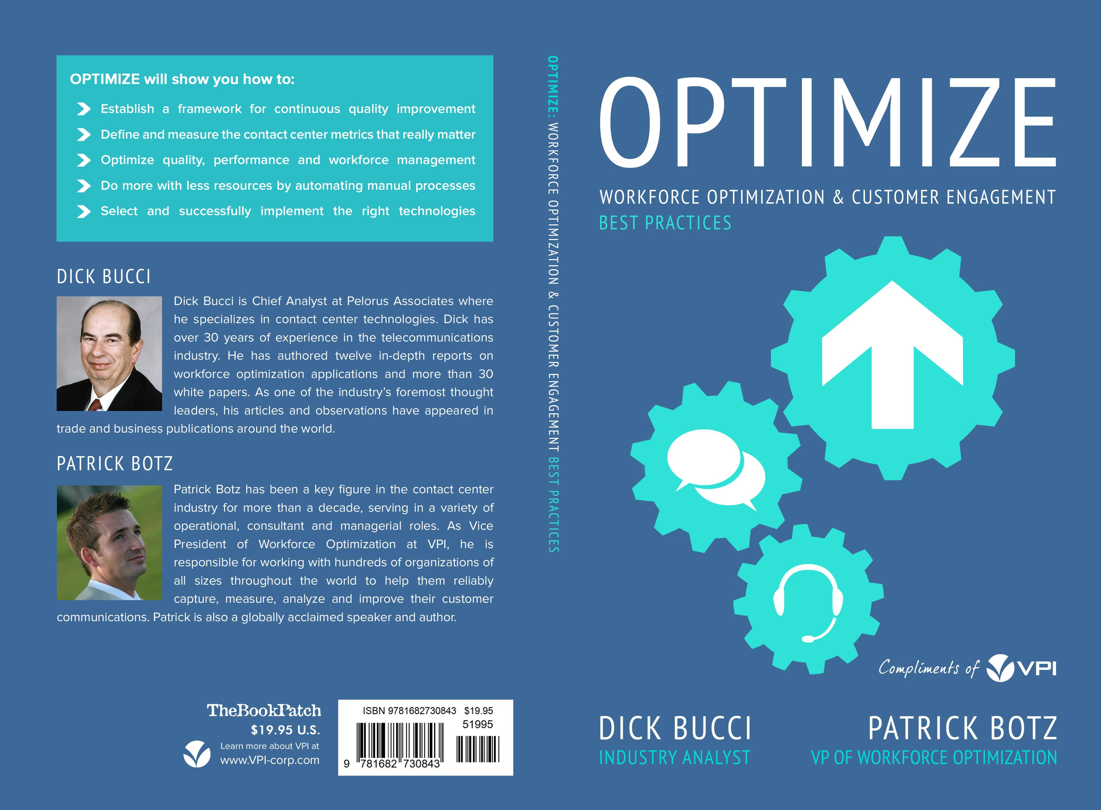 Optimize: Workforce Optimization and Customer Engagement Best Practices cover image