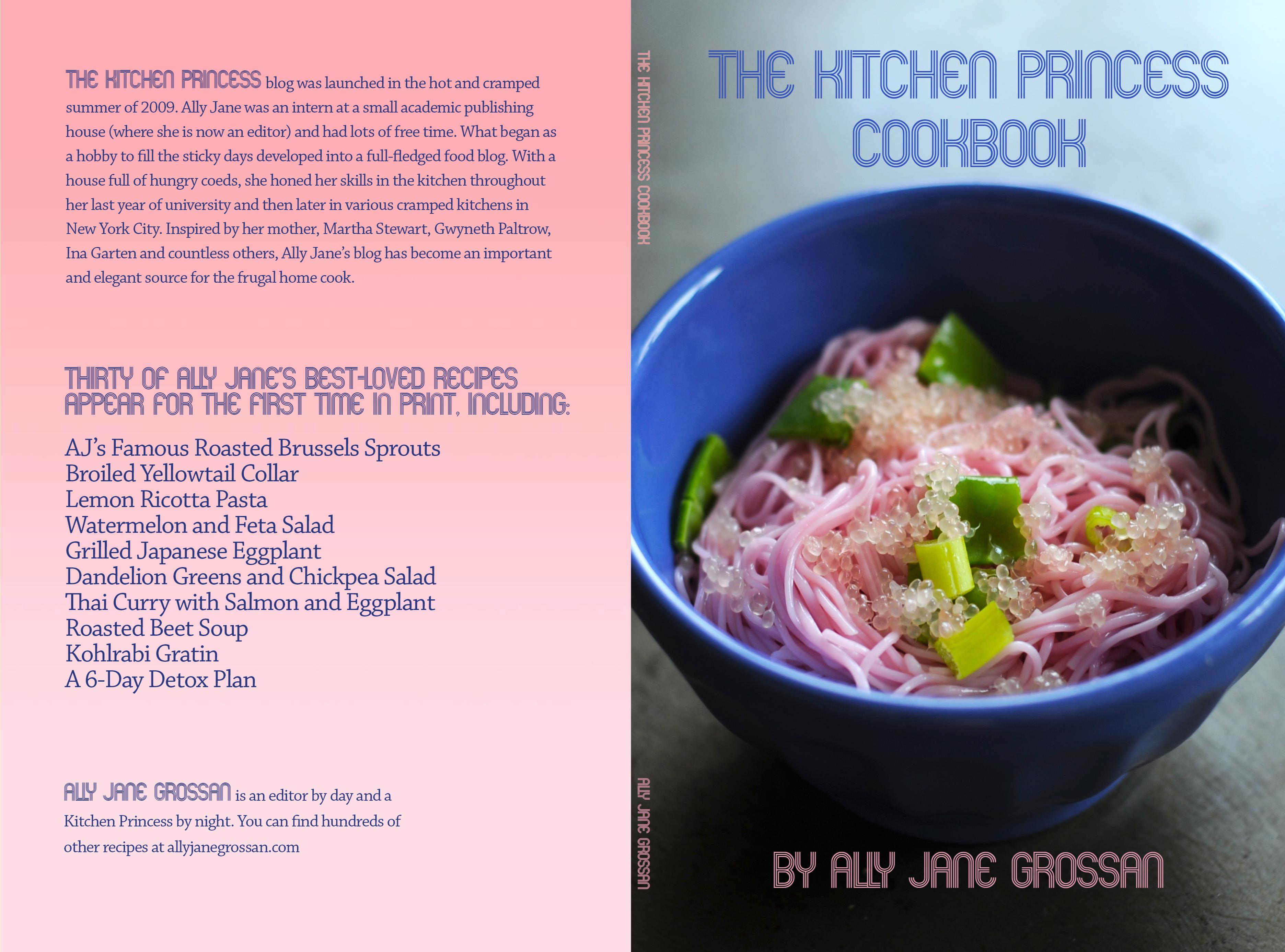 The kitchen princess cookbook by ally jane grossan 1551 the kitchen princess cookbook cover image forumfinder Choice Image