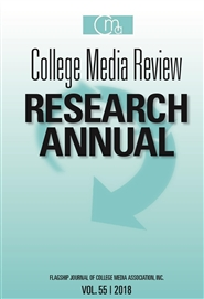 College Media Review Research Annual 2018 cover image