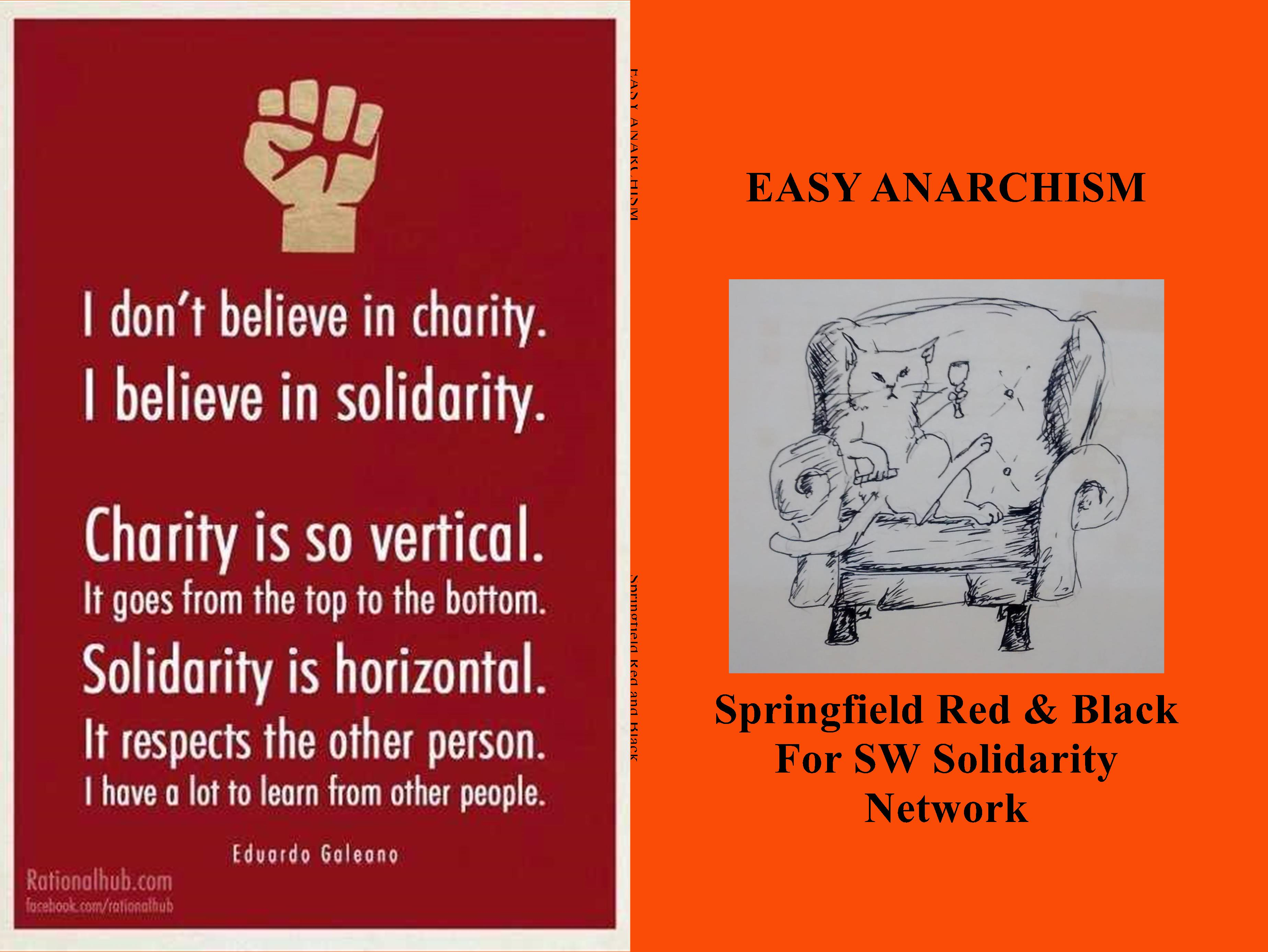 EASY ANARCHISM cover image