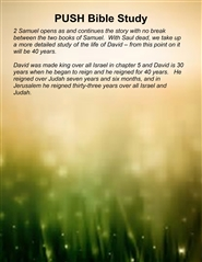 The Book of 2 Samuel Bible Study Series The Book of 2 Samuel cover image