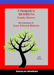 A Handguide to Behrens Family History cover image