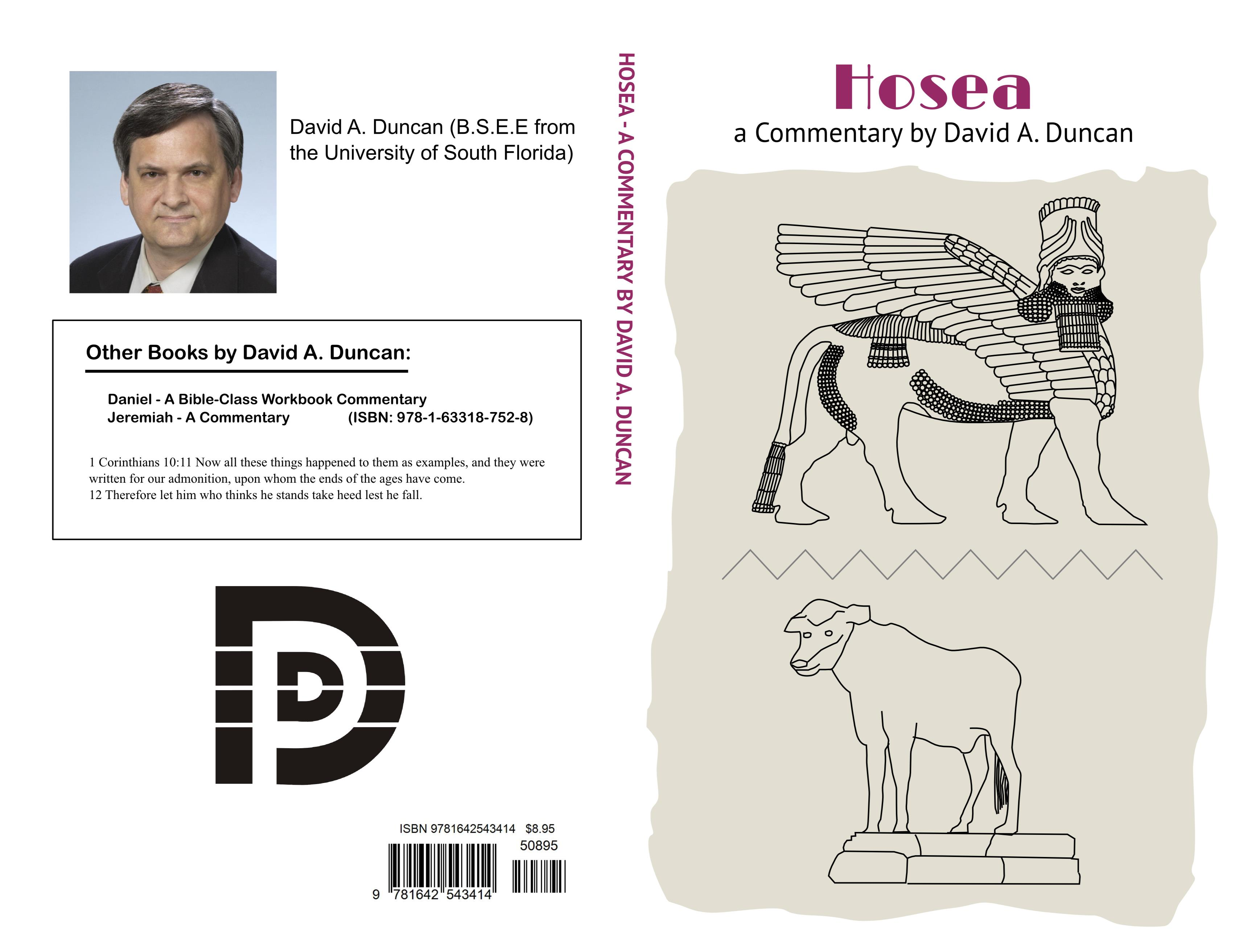 Hosea - A Commentary by David A. Duncan cover image