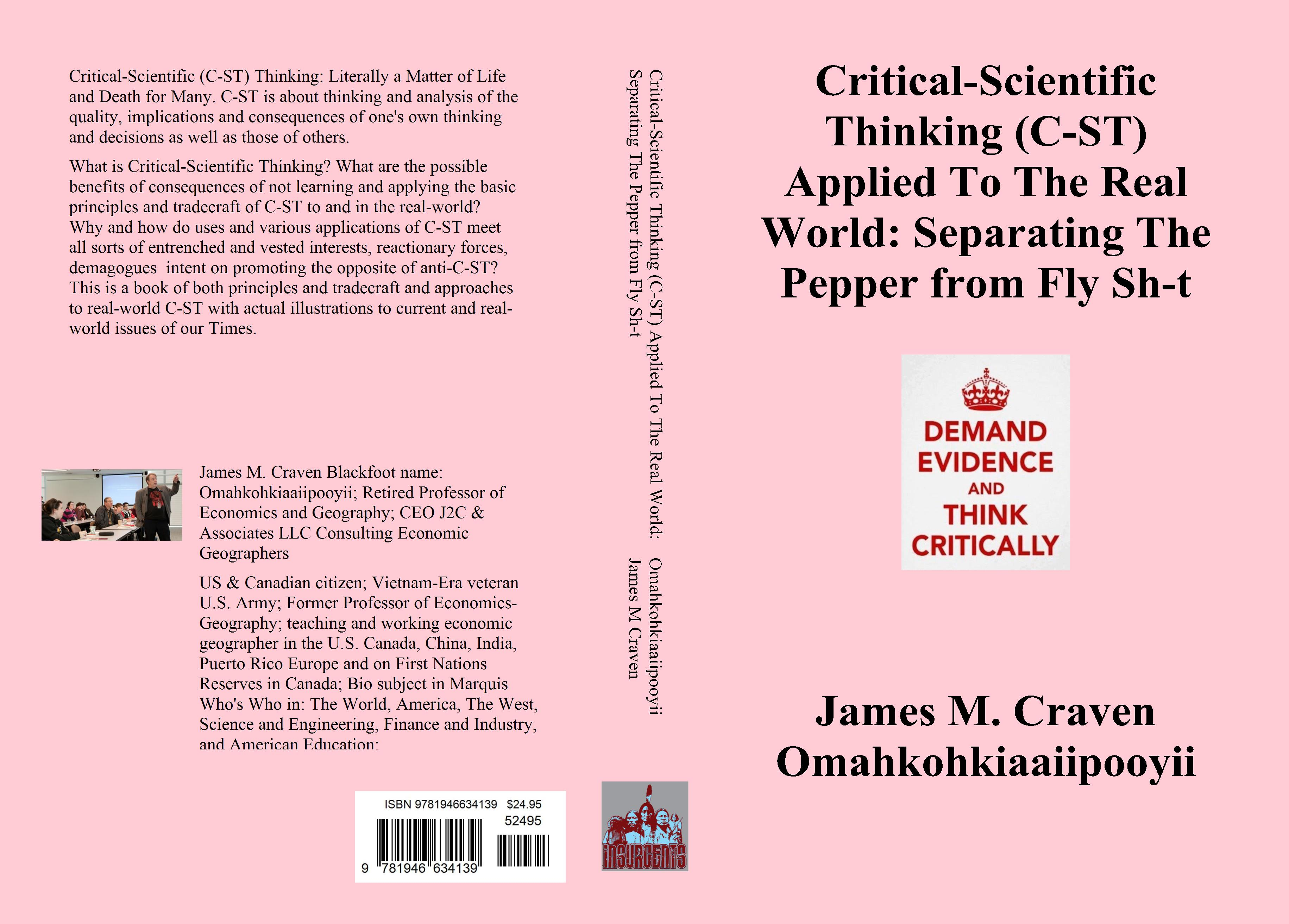 Critical-Scientific Thinking (C-ST) Applied To The Real World: Separating The Pepper from Fly Sh-t cover image