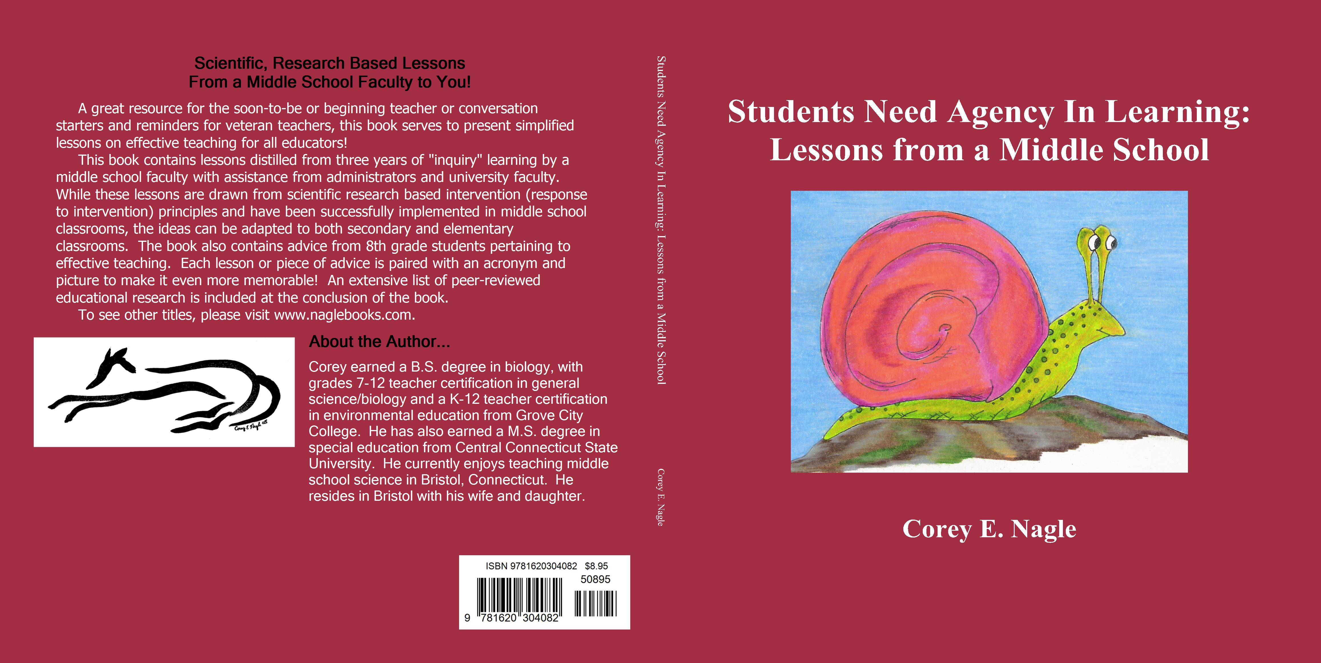 Students need agency in learning lessons from a middle school by students need agency in learning lessons from a middle school cover image xflitez Gallery