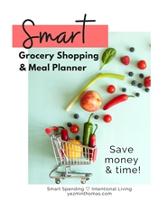 Smart Grocery Shopping Planner cover image