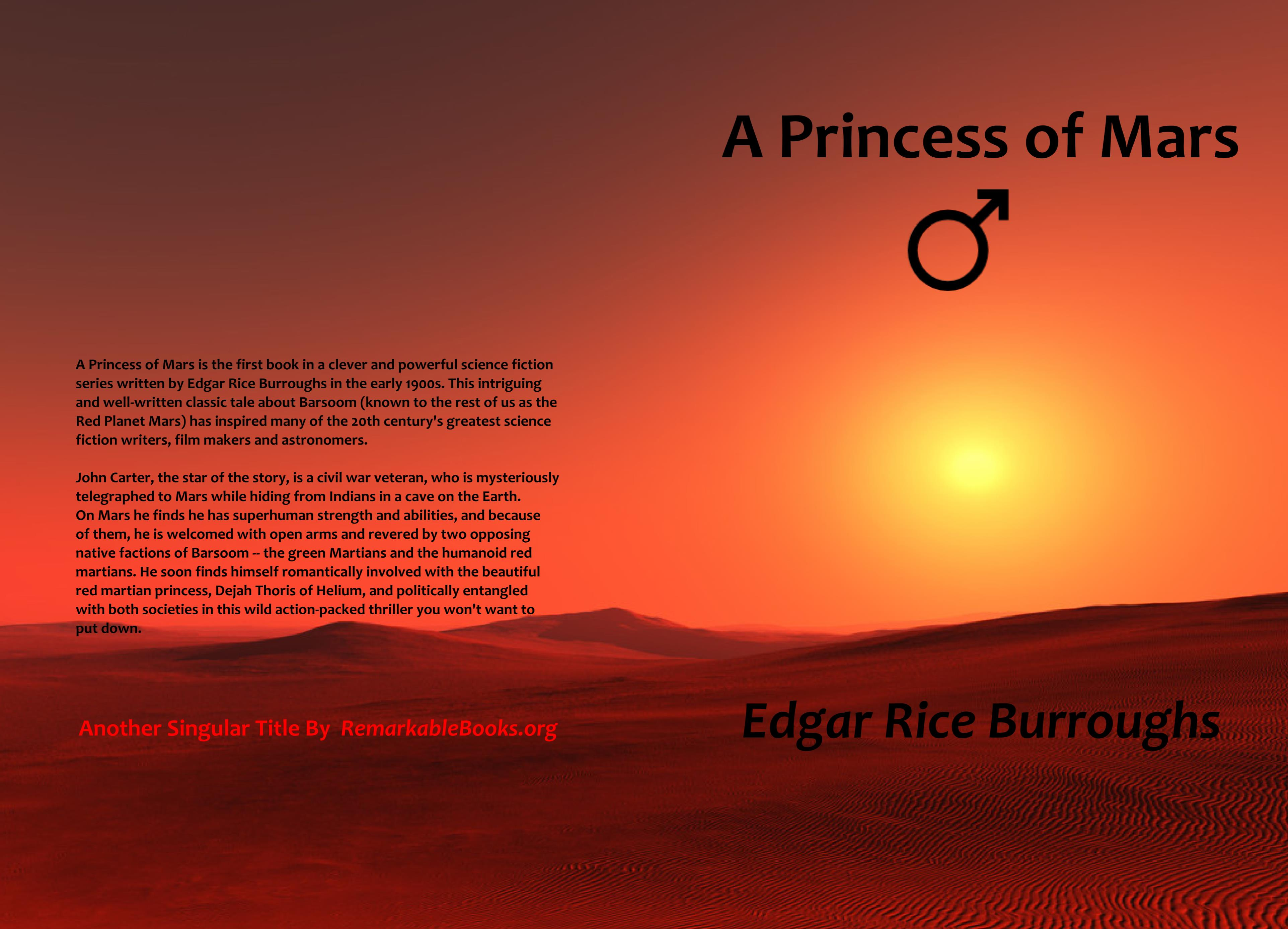A Princess of Mars cover image