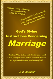 God's Divine Instructions Concerning Marriage cover image