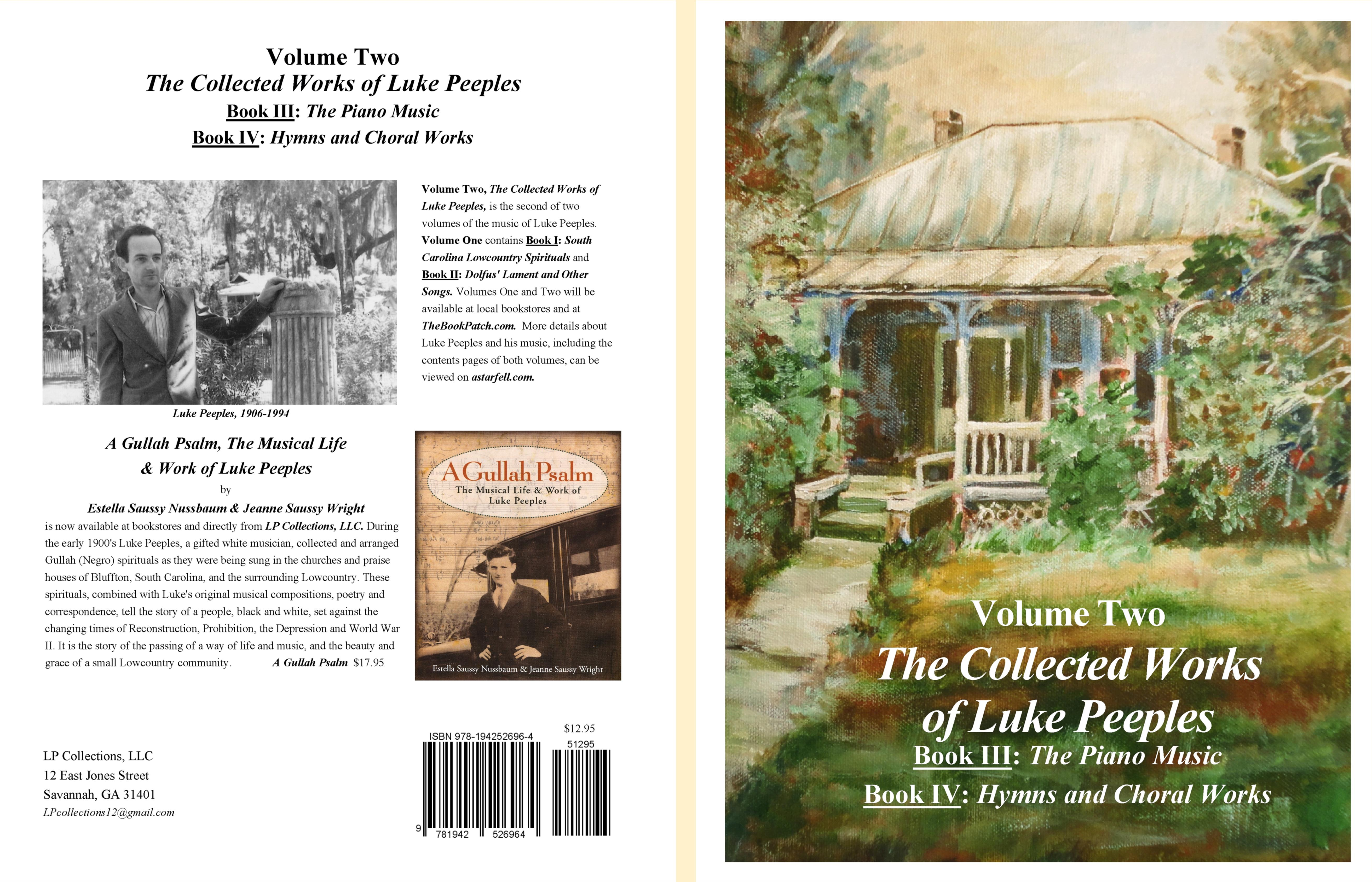 The Collected Works of Luke Peeples, Volume Two cover image