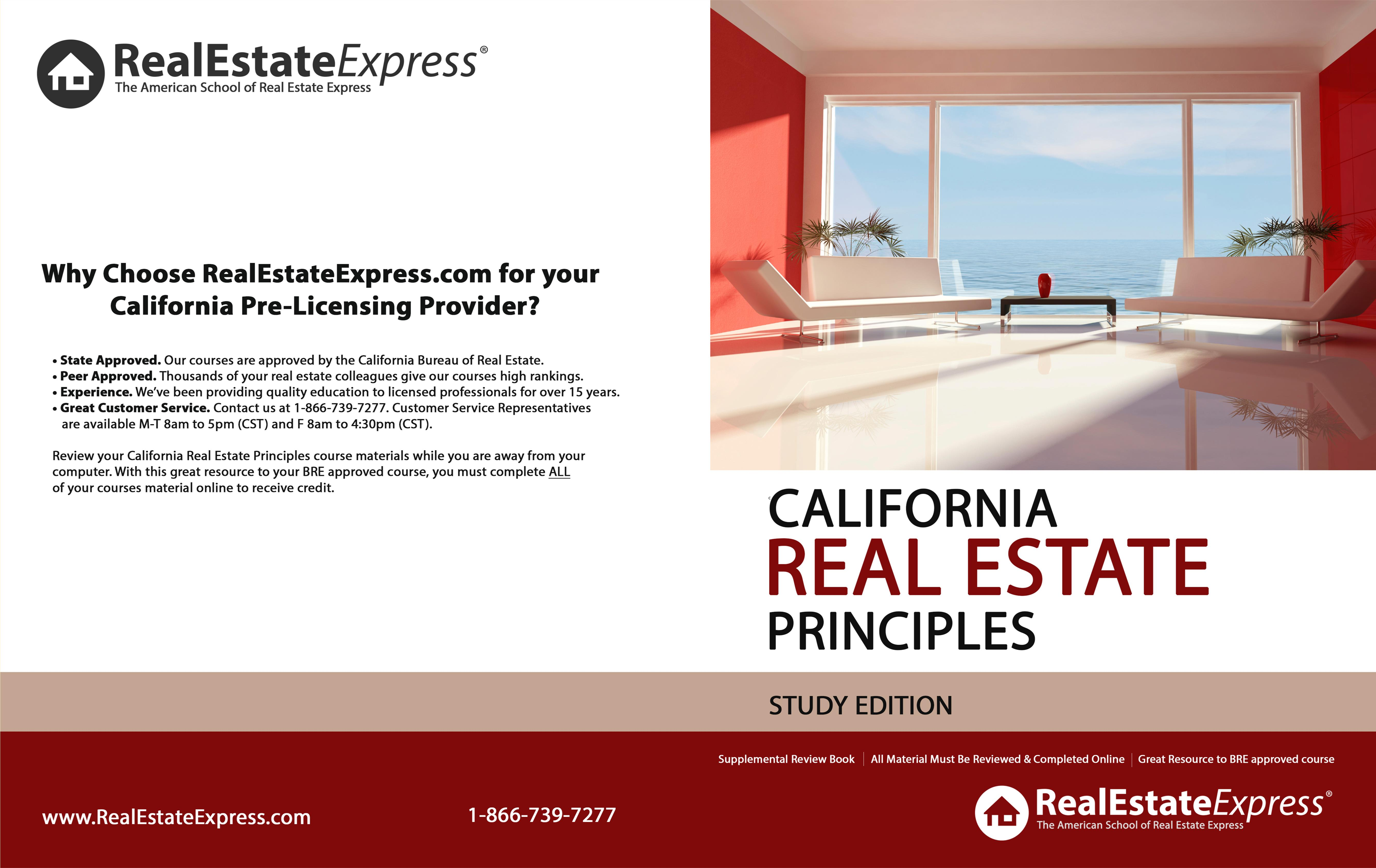 California Real Estate Principles (Study Edition) cover image