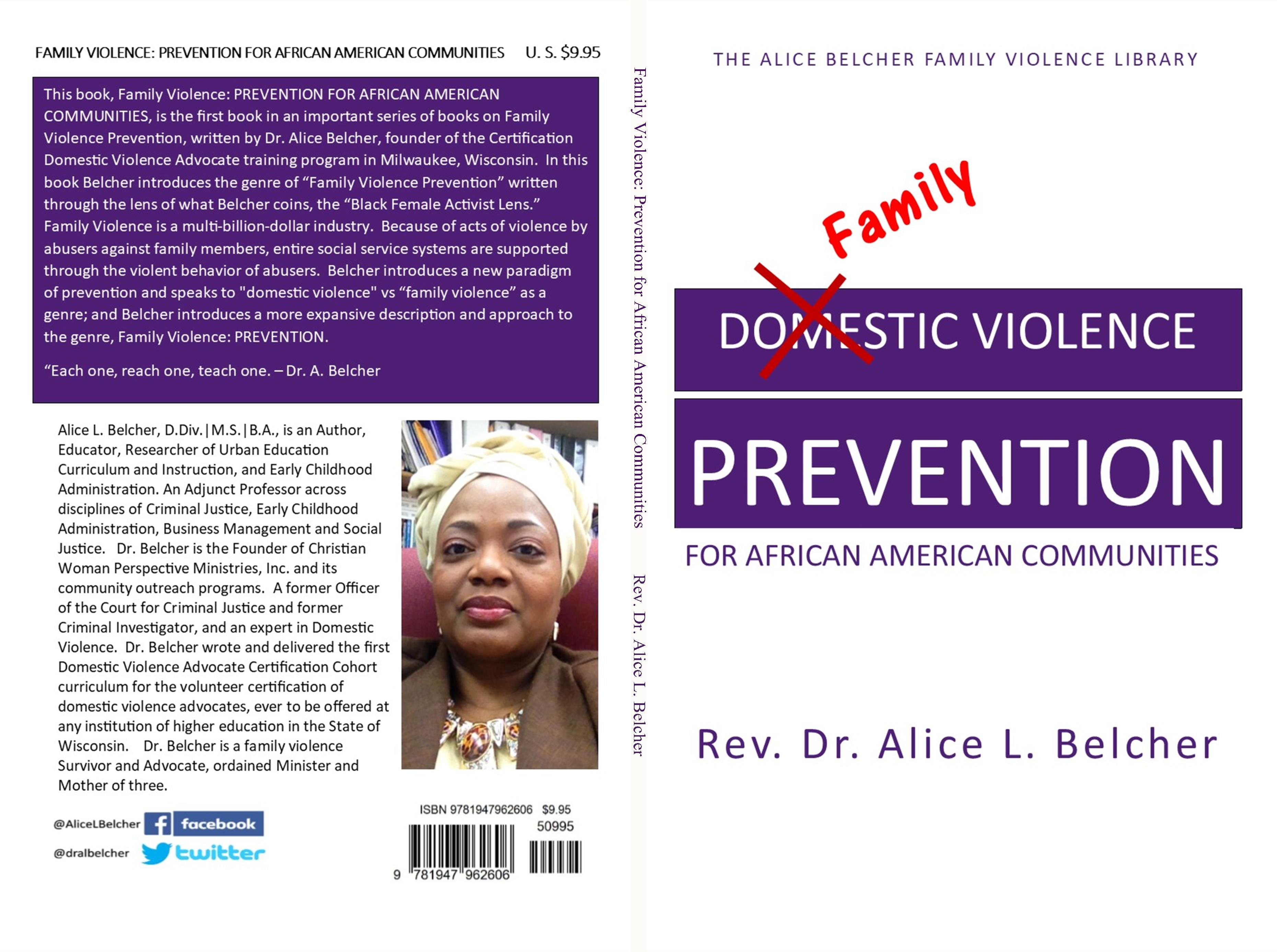 Family Violence: Prevention for African American Communities cover image
