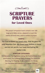 Scripture Prayers for Loved Ones cover image