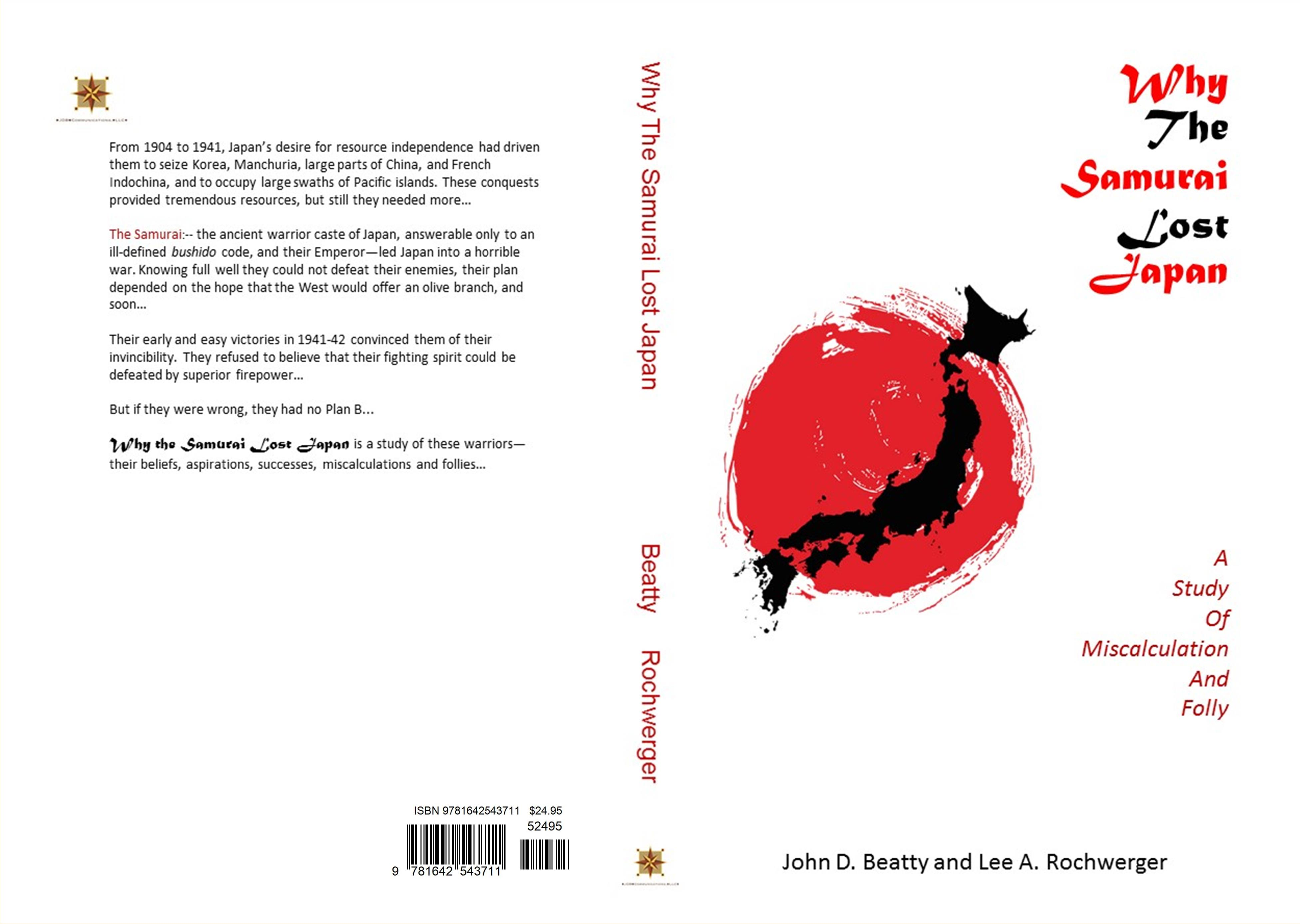 Why the Samurai Lost Japan: A Study in Miscalculation and Folly cover image
