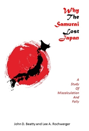 Why the samurai lost cover image