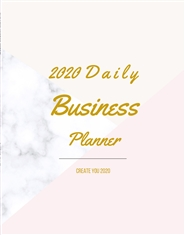 2020 Daily Business Planner cover image