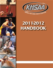 2011-2012 Kentucky High School Athletic Association Handbook cover image