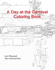 A Day at the Carnival Coloring Book cover image