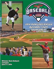2014 Rawlings/KHSAA Baseball State Tournament Program (B&W) cover image