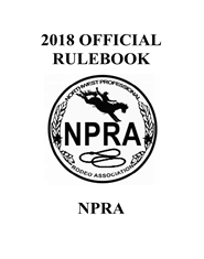 2018 OFFICIAL RULEBOOK cover image