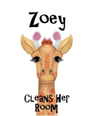 Zoey Cleans Her Room cover image