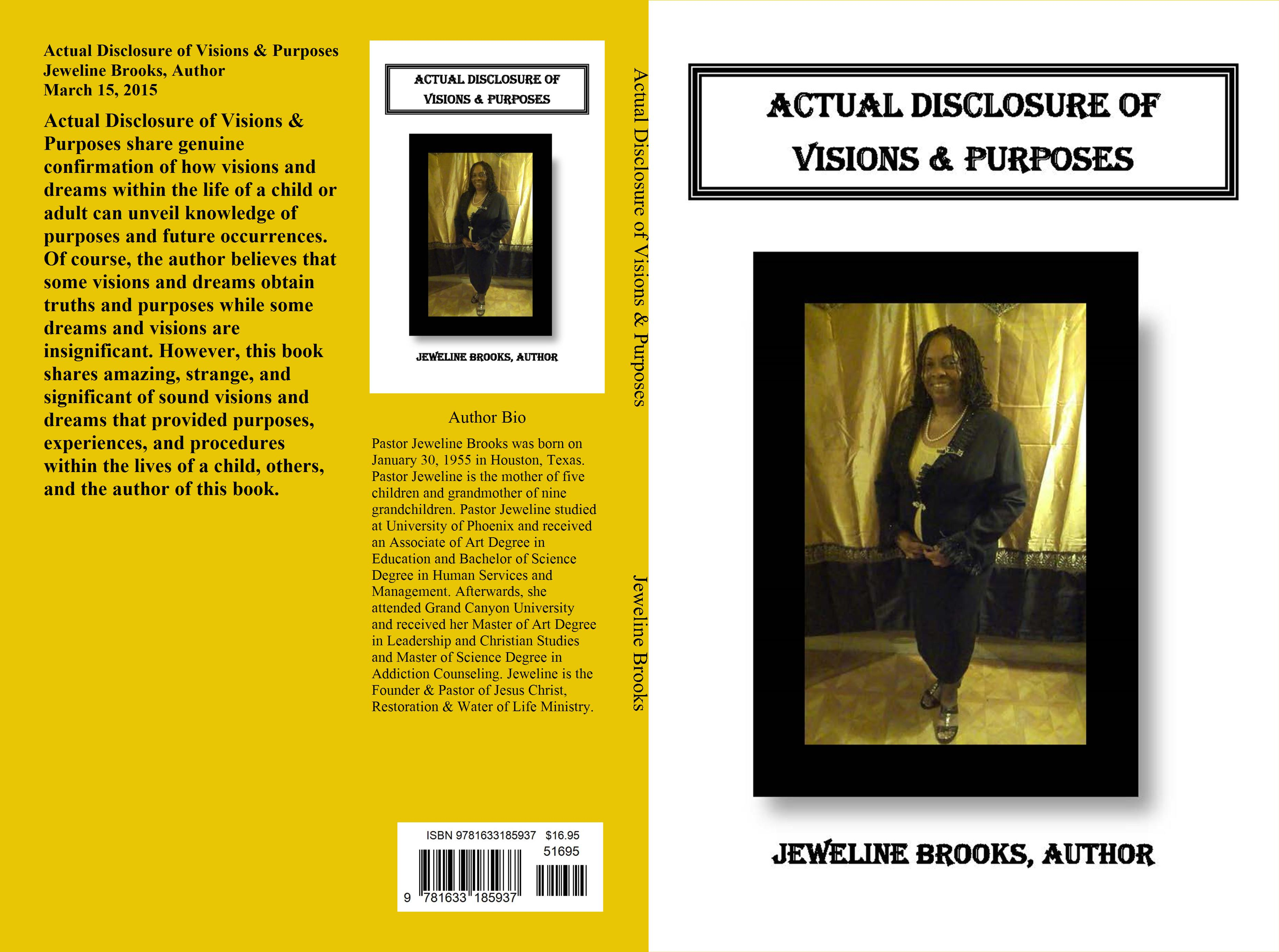ACTUAL DISCLOSURE OF VISIONS & PURPOSES cover image