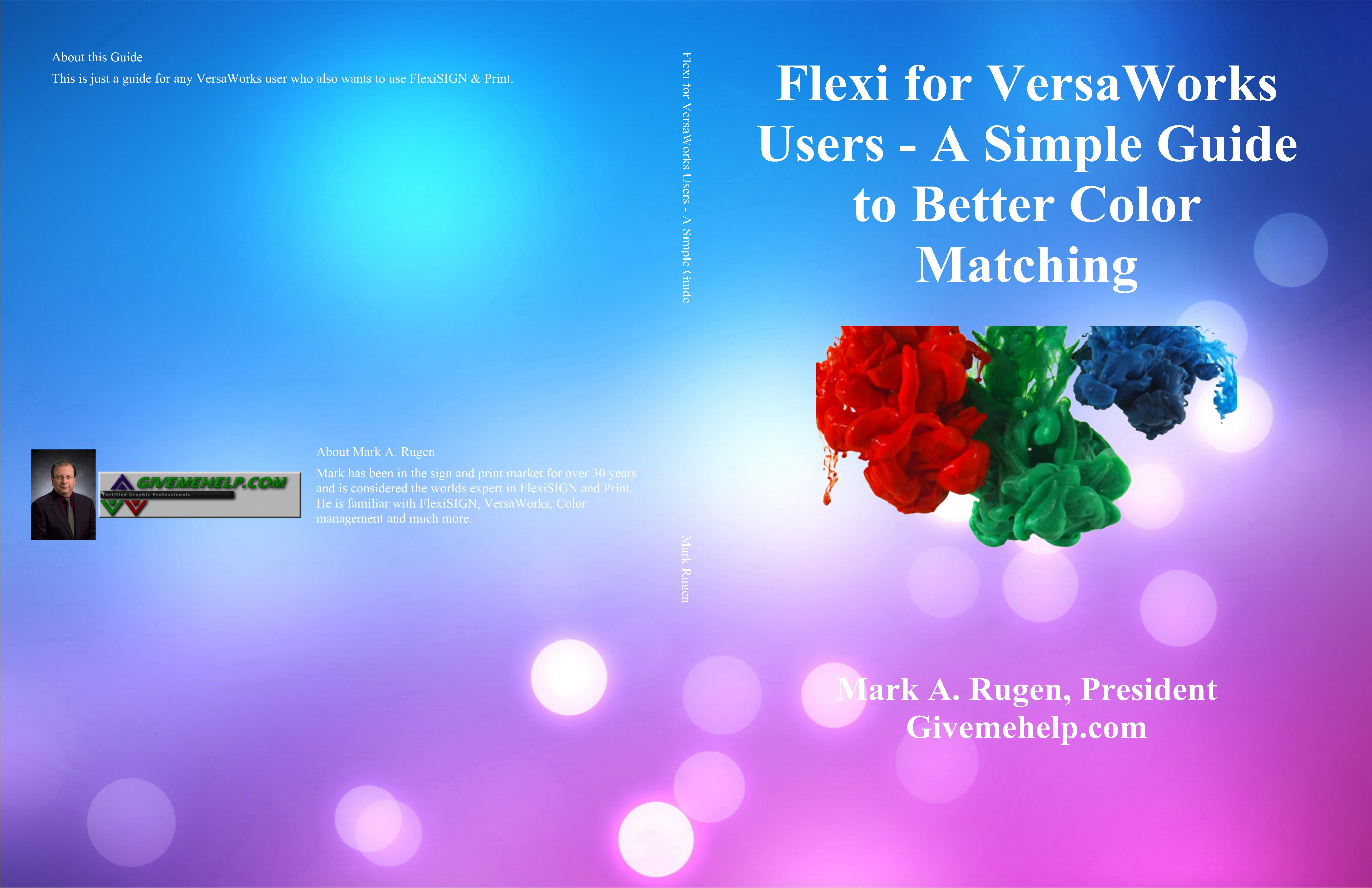 Flexi for VersaWorks Users - A Simple Guide to Better Color Matching cover image
