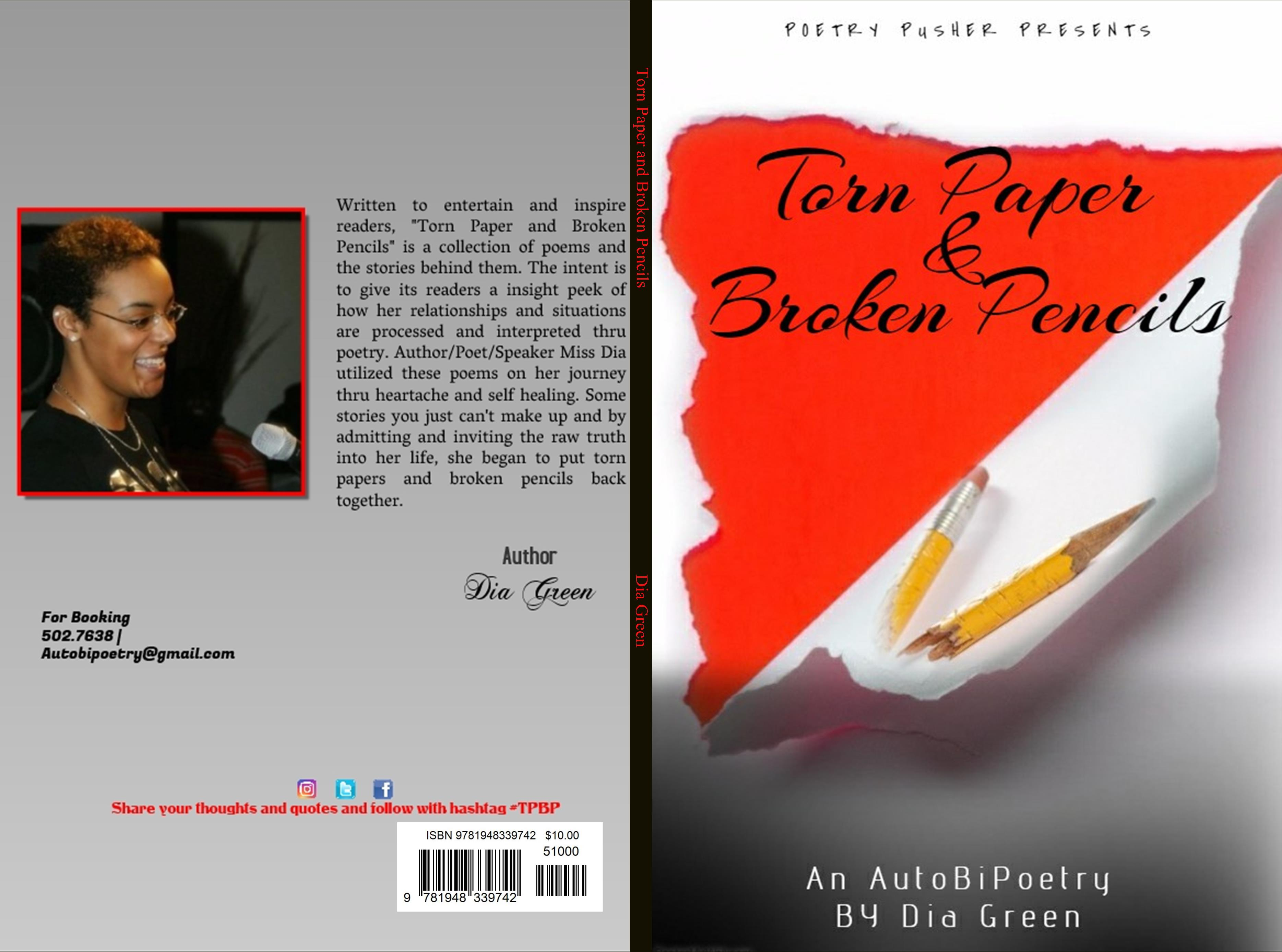 Torn Paper and Broken Pencils cover image