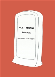 MULTI-TENANT Signage: Old Cheap Color Theory cover image
